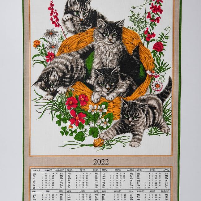 Kalender Kreier Katzen 2022