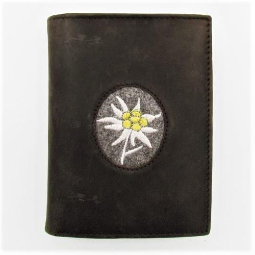 Portemonnaie mit Edelweiss