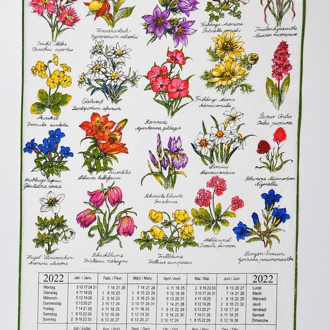 Kalender Kreier 2022 Alpenblumen