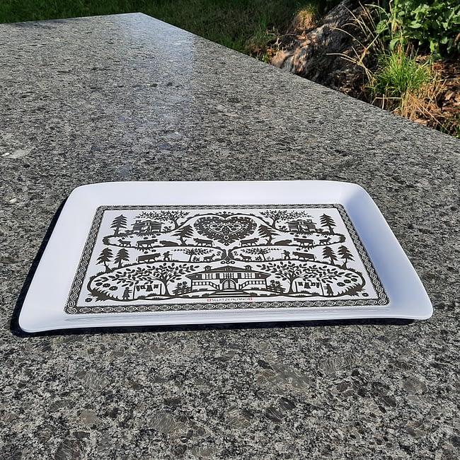 Tablett 26 x 37 cm