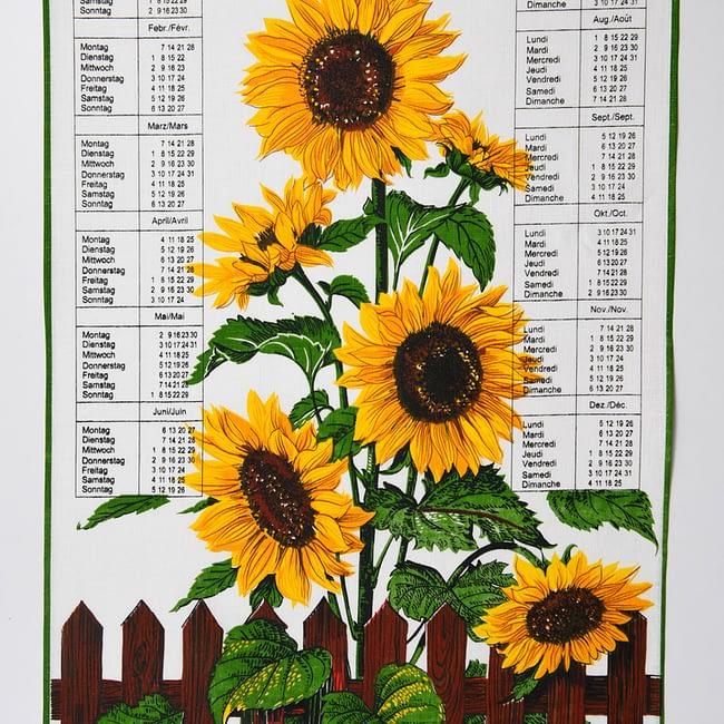 Kalender Kreier 2022 Sonnenblumen