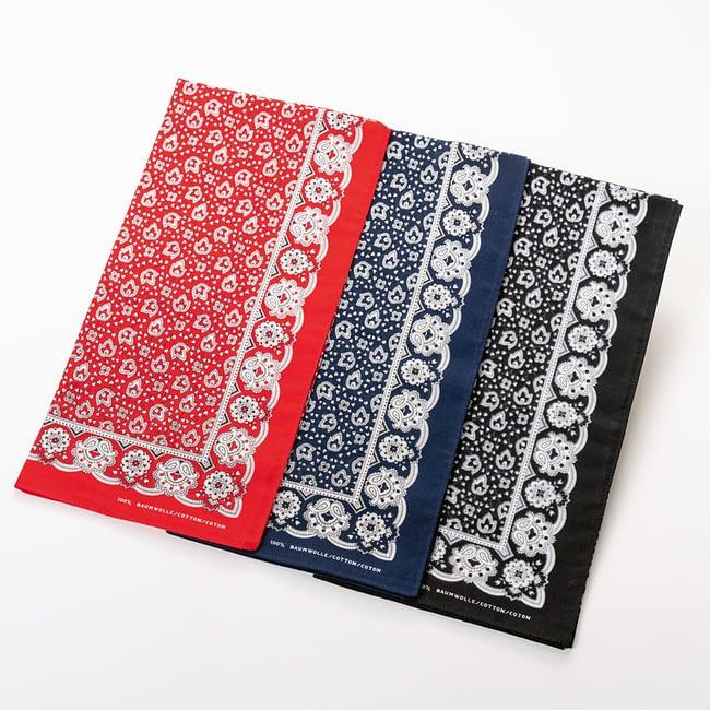 Kopftuch mit traditionellem Muster