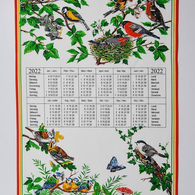 Kalender Kreier Vögel 2022