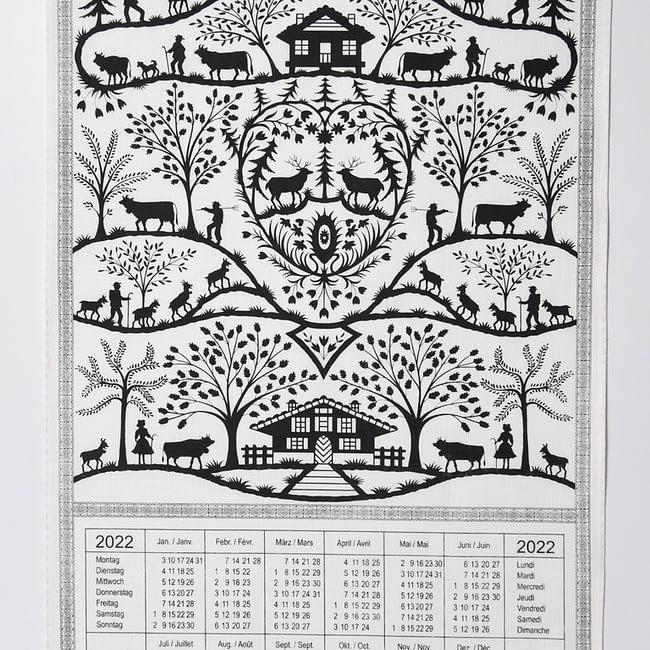 Kalender Kreier Scherenschnitt 2022