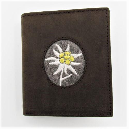 Portemonnaie mit Edelweiss klein