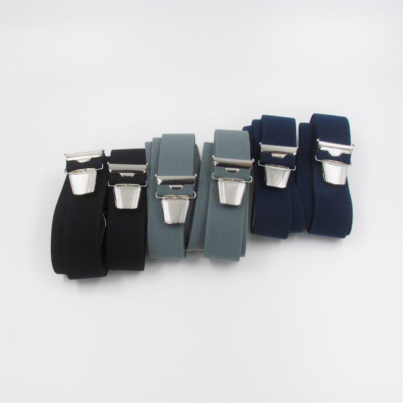 Unifarbene Hosenträger