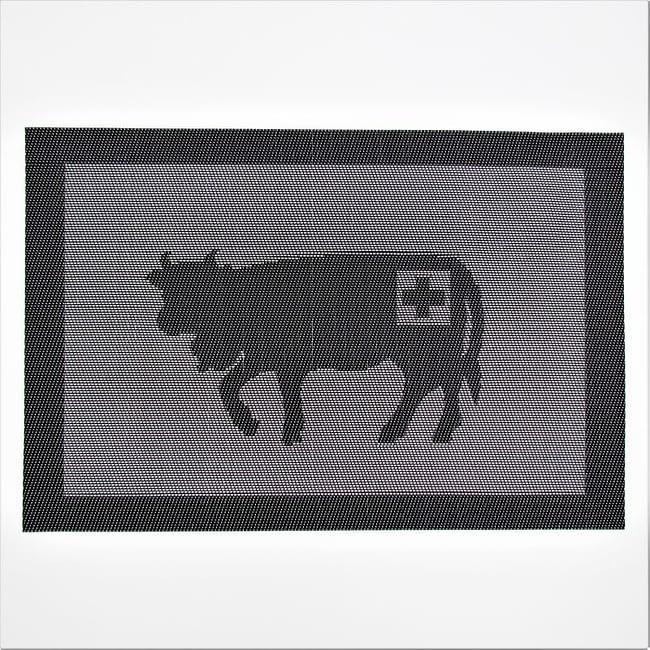 Tischset Kuh