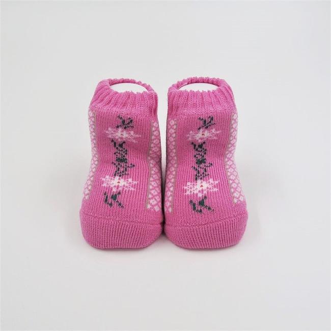 Babysocke rosa Edelweiss