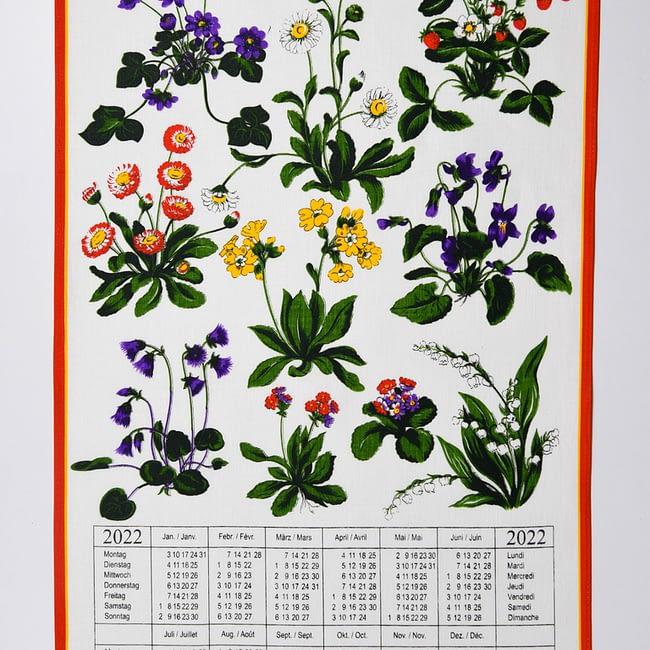 Kalender Kreier 2022 frühlingsblumen